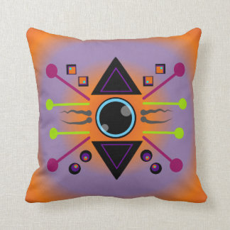 Conceiving New Vision: Inner Strenght Throw Pillow