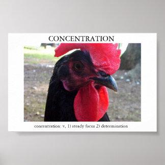 Concentración Poster