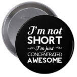 Concentrated Awesome 4 Inch Round Button