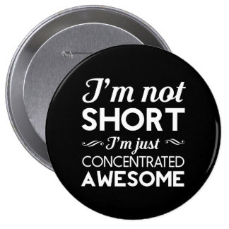 Concentrated Awesome Pinback Buttons