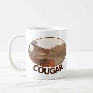 Concentration - Cougar Coffee Mug