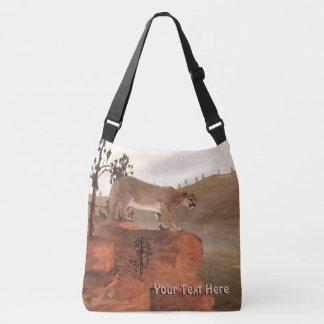 Concentration - Cougar Crossbody Bag