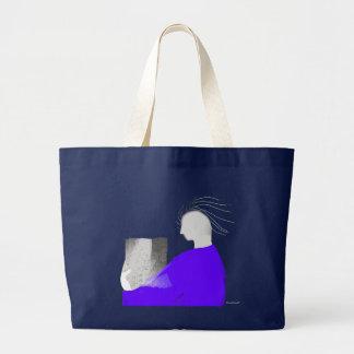 Concentration Large Tote Bag