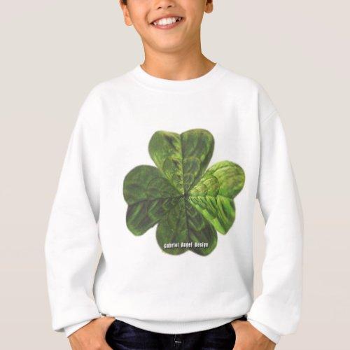 Concentric 4 Leaf Clover Sweatshirt