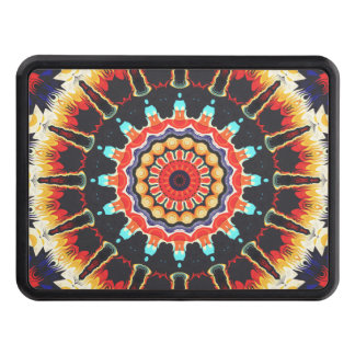 Concentric Balance of Colors Tow Hitch Cover