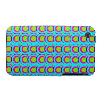 Concentric circles pattern iPhone 3 Case-Mate case
