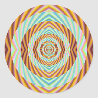 Concentric Circles Sticker