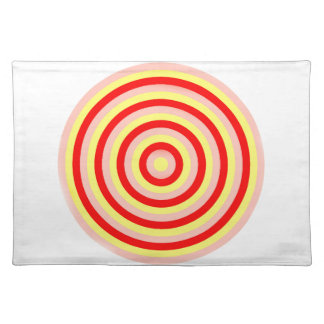 Concentric Circles Table Place Mat