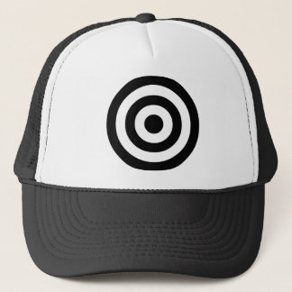 Concentric Circles Trucker Hat