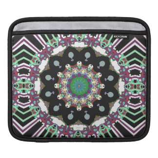 Concentric Geometric Abstract Sleeve For iPads