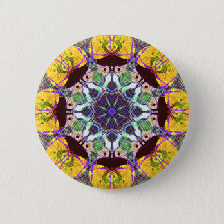 Concentric Lines of Color Button