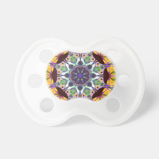 Concentric Lines of Color Pacifier
