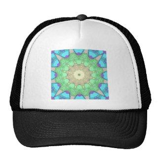Concentric Pastel Colors Trucker Hat