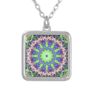 Concentricity 1 square pendant necklace