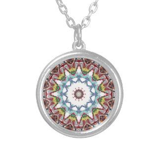 Concentricity 6 round pendant necklace