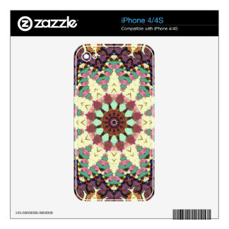 Concentricity 8 decal for iPhone 4