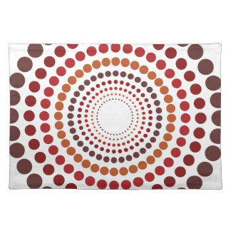 Concentricity American MoJo Placemat Cloth Place Mat