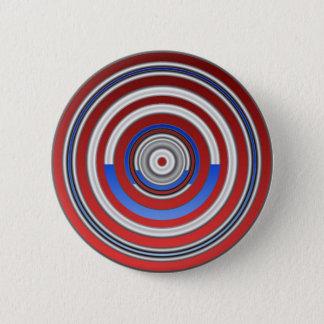 Concentrics Pinback Button