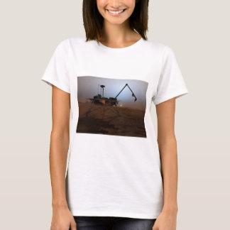 Concept Art of Phoenix Mars Lander at Twilight T-Shirt