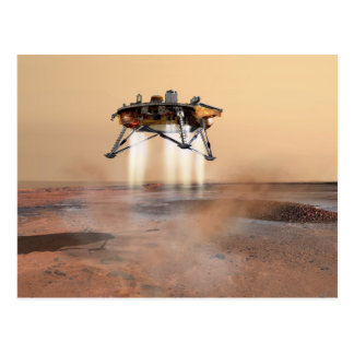 Concept Art of Phoenix Mars Lander Postcard