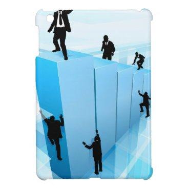 Concept Business People Silhouettes Success iPad Mini Cases