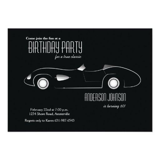 Concept Car Invitation