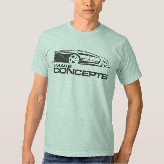 Concept car t shirt