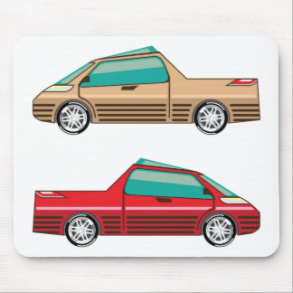 Concept car vector Self driving vehicle Mouse Pad