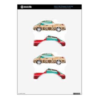 Concept car vector Self driving vehicle Xbox 360 Controller Skin