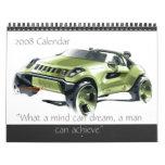 Concept Cars 2008 Calendar