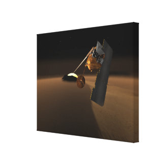 Concept for Mars Volcanic Emission Life Scout Gallery Wrapped Canvas