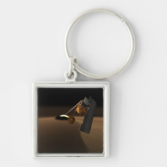 Concept for Mars Volcanic Emission Life Scout Keychain