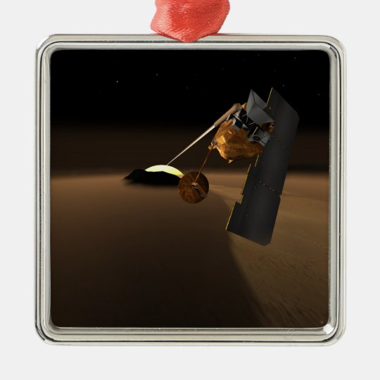Concept for Mars Volcanic Emission Life Scout Metal Ornament