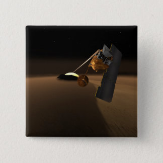 Concept for Mars Volcanic Emission Life Scout Pinback Button