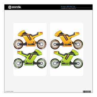 Concept motorcycle Electric Bike Kindle Fire Skin