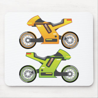 Concept motorcycle Electric Bike Mouse Pad