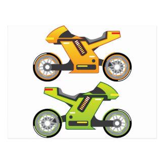 Concept motorcycle Electric Bike Postcard