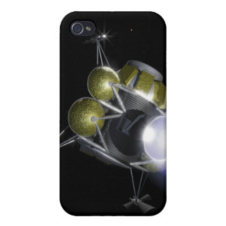 Concept of a crew blasting off case for iPhone 4