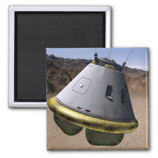 Concept of a crew exploration vehicle 2 inch square magnet