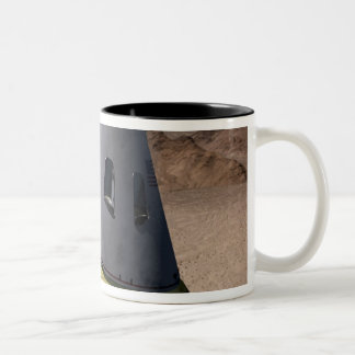 Concept of a crew exploration vehicle Two-Tone coffee mug