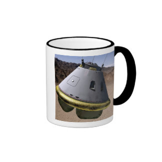 Concept of a crew exploration vehicle ringer coffee mug