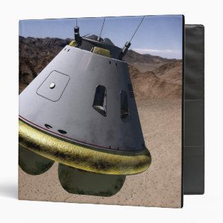 Concept of a crew exploration vehicle vinyl binder
