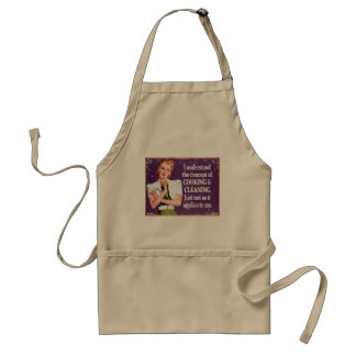Concept of Cooking and Cleaning... Aprons