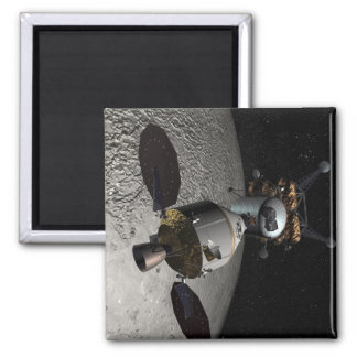 Concept of the Orion crew exploration vehicle 2 Inch Square Magnet