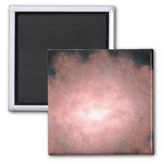 Concept of what a dusty and bright galaxy refrigerator magnet
