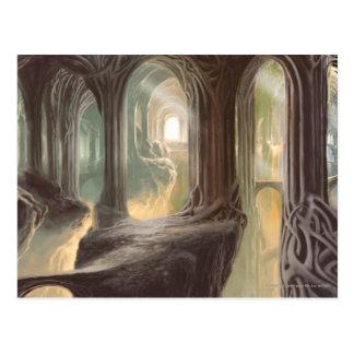 Concepto 2 del reino del arbolado tarjetas postales