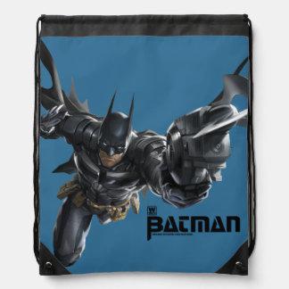 Concepto Batman con Batclaw Mochila