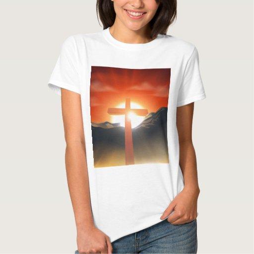 Concepto cruzado cristiano de Pascua Poleras
