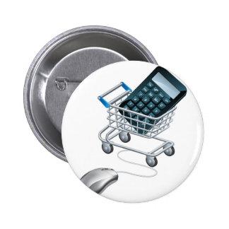 Concepto de contabilidad en línea pin