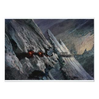 Concepto de la ciudad del Goblin - presos del Invitación 12,7 X 17,8 Cm